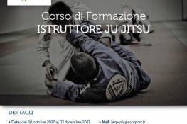 Corso di Formazione ISTRUTTORE JU JITSU