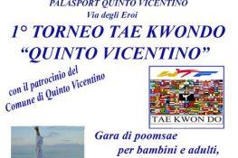 1   Torneo TAE KWONDO  Quinto Vicentino  ASC VERONA