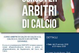 Corso per ARBITRI DI CALCIO ASC Campania