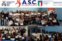 """Stage difesa personale metodologia """"Woman Defense"""" ASC Taranto"""