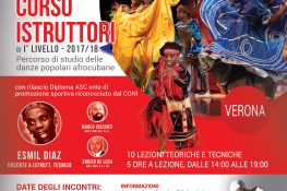 Corso Istruttori 1   Livello Danze popolari afrocubane ASC Verona
