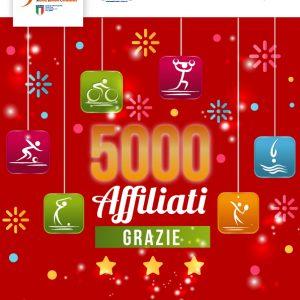 5000 VOLTE GRAZIE!