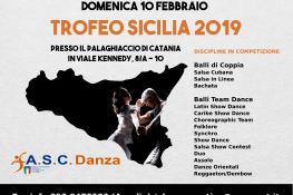 8   TROFEO SICILIA A S C  2019 - DANZE CARAIBICHE - TEAM DANCE