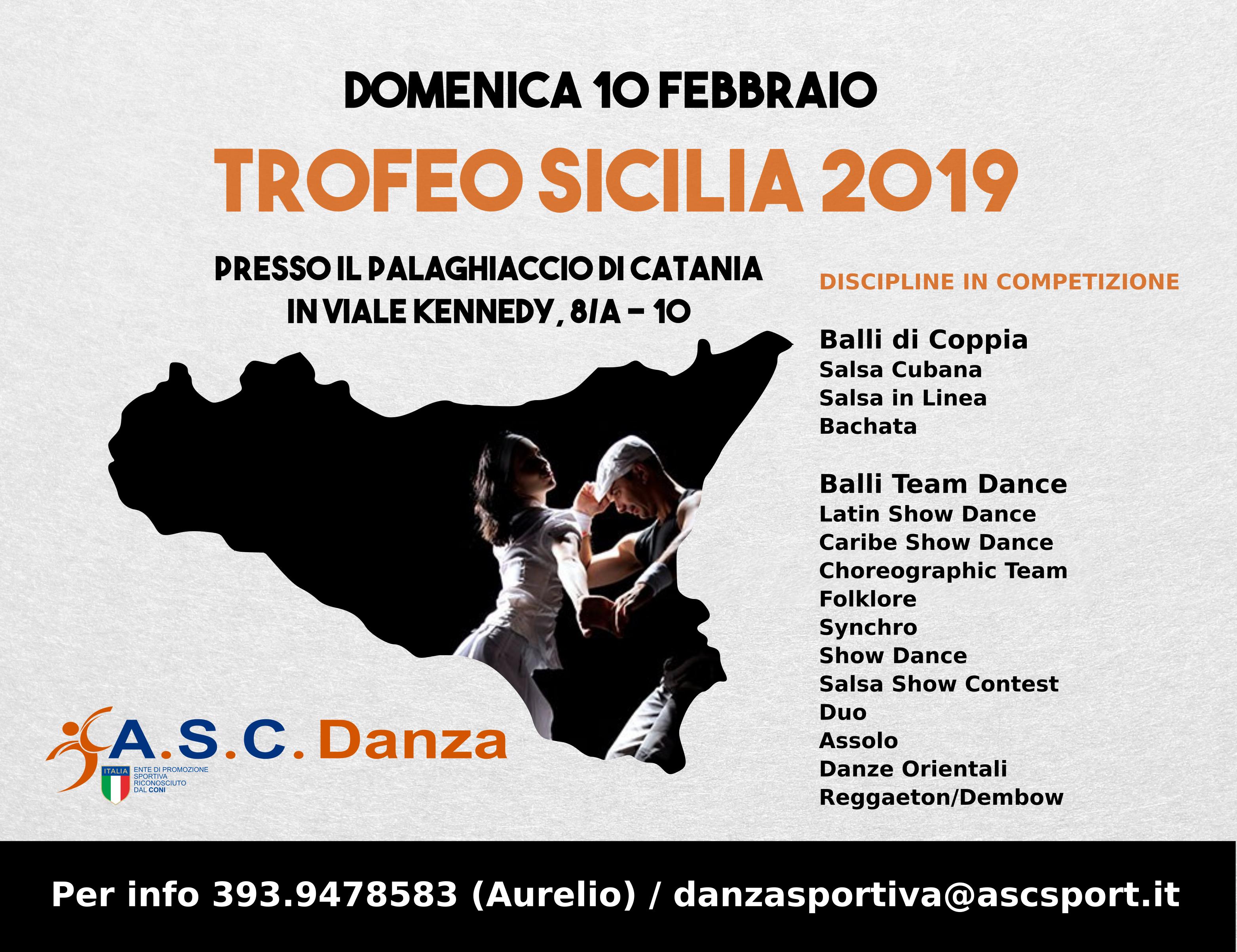 Calendario Rally Sicilia 2020.8 Trofeo Sicilia A S C 2019 Danze Caraibiche Team