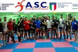 Stage di Muay Thai con il pluricampione del mondo Sak Kaoponlek – ASC Taranto