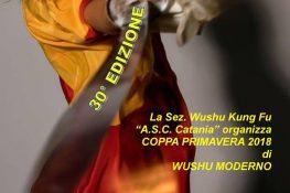 Coppa Primavera di Wushu Moderno ASC CATANIA