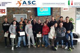 1° corso di Giudice O.C.R. ASC Taranto