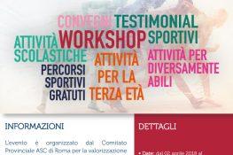 Integrandosi con lo sport ASC Roma