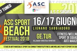 ASC SPORT BEACH FESTIVAL VENETO 2018
