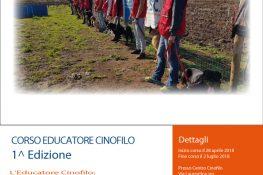 Corso educatore cinofilo ASC LAZIO