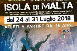 Camp WATERPOLO MALTA ASC - SPORT MANAGEMENT