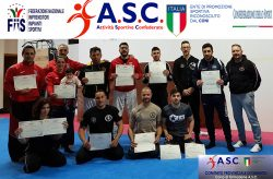 Corso di formazione Allenatore Istruttore di Kick Boxing ASC TARANTO