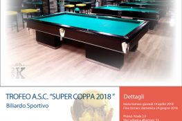 TROFEO A S C  SUPER COPPA 2018 Specialit   Pool 8 15