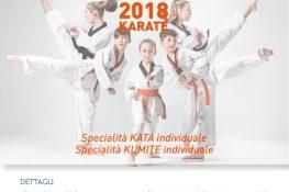1   Edizione Trofeo ASC 2018 KARATE