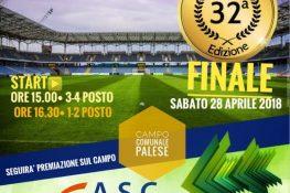 FINALE E PREMIAZIONE CAMPIONATO ASC BARI DI CALCIO A11 - BARI 28 APRILE