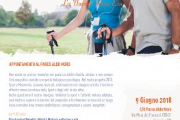 SPORT  E MOVIMENTO Appuntamento al parco Aldo Moro