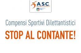 Compensi Sportivi Dilettantistici STOP AL CONTANTE!