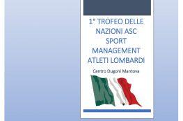 1   Trofeo delle Nazioni ASC-SPORTMANAGEMENT Atleti Lombardi