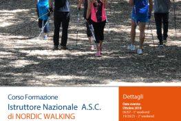Corso Formazione Istruttore Nordic Walking A S C  Lazio