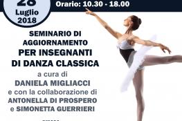 Seminario per Insegnanti di Propedeutica alla Danza e Danza Classica