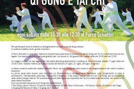 Progetto SOSIA - QI GONG E TAI CHI al Parco Schuster