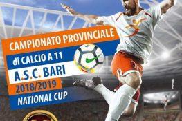 CAMPIONATO PROVINCIALE A S C  BARI DI CALCIO A 11  XXXIII EDIZIONE- ANNO 2018-2019