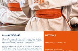 KARATE COPPA ASC LAZIO 2018