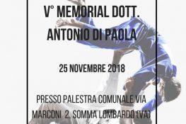 V MEMORIAL DOTT  ANTONIO DI PAOLA ASC LOMBARDIA
