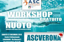 Workshop gratuito sulla figura dell Istruttore di Nuoto ASC VERONA