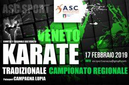 CAMPIONATO REGIONALE KARATE TRADIZIONALE ASC VENETO 2019