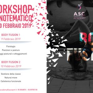 Workshop monotematico BODY FUSION