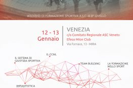 Formazione Continua per lo sport ASC VENEZIA
