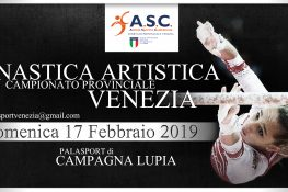 CAMPIONATO PROVINCIALE ASC VENEZIA 2019 - GINNASTICA ARTISTICA