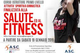 Corso Istruttore Primo Livello  Ginnastica Finalizzata alla Salute e al Fitness