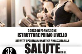 Corso di formazione Istruttore primo livello Attivit   Sportiva ginnastica finalizzata alla salute ed al fitness ASC VERONA