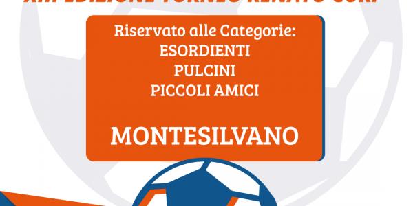 """Campionato Nazionale Calcio Giovanile ASC 2019 XIII Edizione Torneo """"RENATO CURI"""""""