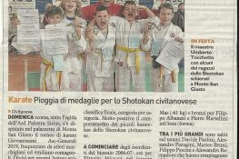 Torneo Giovanissimi Karate ASC MARCHE