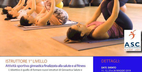 Corso di formazione Ginnastica Finalizzata alla Salute – ASC Academy Lazio