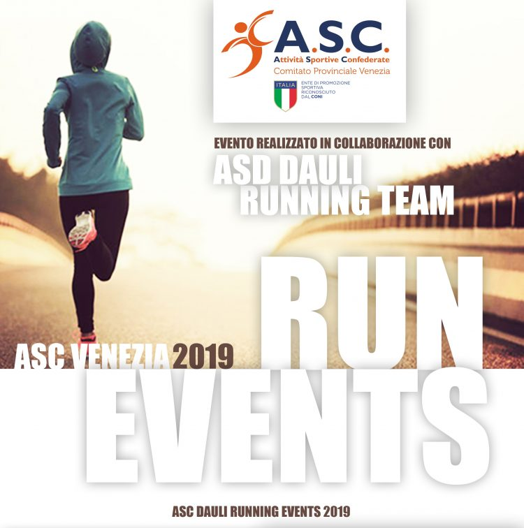 Calendario Podistico Veneto 2020.Asc Venezia Run Events 2019 Asc Sport