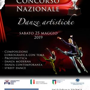 CONCORSO NAZIONALE A.S.C. DANZE ARTISTICHE – STREET DANCE