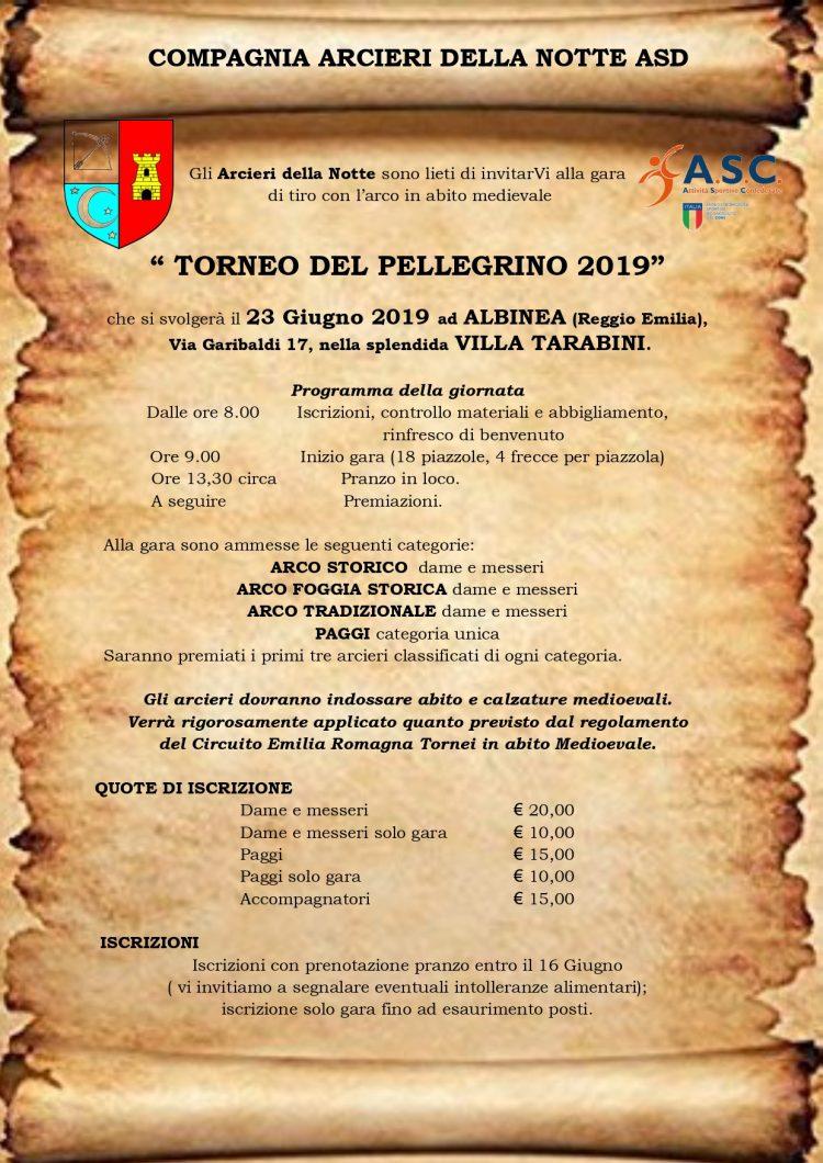 Piazzola Bologna Calendario 2020.Torneo Del Pellegrino 2019 Asc Bologna