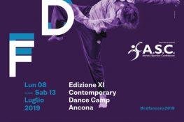 Conero Dance Festival XI Edizione CONTEMPORARY DANCE CAMP ANCONA ASC MARCHE