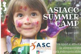 ASIAGO SUMMER CAMP ASC VICENZA