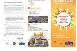 AIM ENERGY CAMP ASC VICENZA