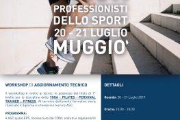 Workshop di aggiornamento tecnico ASC LOMBARDIA  I nuovi professionisti dello sport