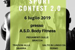 Sport Contest 2 0 Body Fitness ASC VERONA