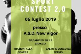 Sport Contest 2 0 A S D  New Vigor ASC VERONA