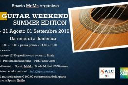 Guitar Weekend Summer Edition ASC VICENZA