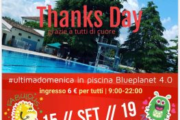 Thanks Day  ultimadomenica in piscina ASC VICENZA
