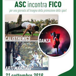 ASC incontra FICO per una giornata all'insegna della promozione dello sport